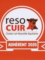 Alice Angevin, L'Atelier des Sacs à M'Alice, logo Reso cuir(httpsresocuir.fr)
