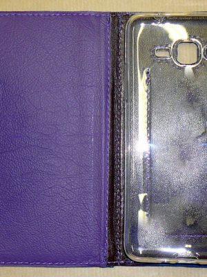 Alice Angevin, Les Sacs à M'Alice Coque à Portable IPhone Violet ouvert