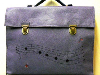 Les Sacs à M'Alice,Alice Angevin, Sacoche à partitions de musique